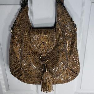 OR by orYANY snakeskin purse, shoulder bag